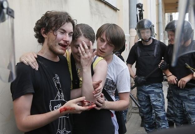 Dmitry Lovetsky / Associated Press